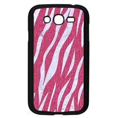 SKIN3 WHITE MARBLE & PINK DENIM Samsung Galaxy Grand DUOS I9082 Case (Black)