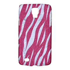 SKIN3 WHITE MARBLE & PINK DENIM Galaxy S4 Active