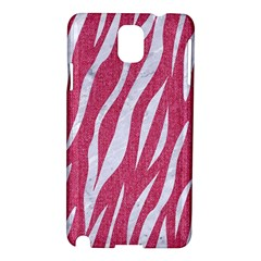 Skin3 White Marble & Pink Denim Samsung Galaxy Note 3 N9005 Hardshell Case by trendistuff