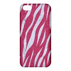 SKIN3 WHITE MARBLE & PINK DENIM Apple iPhone 5C Hardshell Case