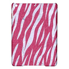 Skin3 White Marble & Pink Denim Ipad Air Hardshell Cases by trendistuff