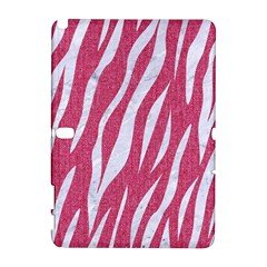 SKIN3 WHITE MARBLE & PINK DENIM Galaxy Note 1