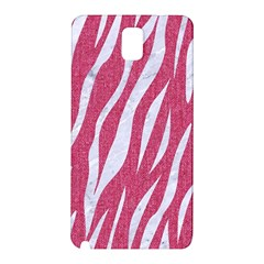 Skin3 White Marble & Pink Denim Samsung Galaxy Note 3 N9005 Hardshell Back Case by trendistuff