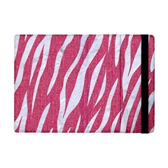 SKIN3 WHITE MARBLE & PINK DENIM iPad Mini 2 Flip Cases