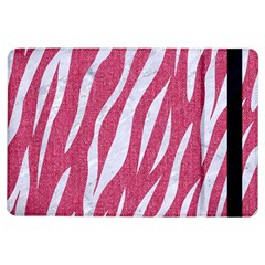 SKIN3 WHITE MARBLE & PINK DENIM iPad Air Flip