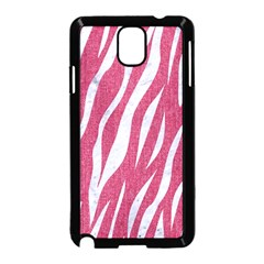 SKIN3 WHITE MARBLE & PINK DENIM Samsung Galaxy Note 3 Neo Hardshell Case (Black)