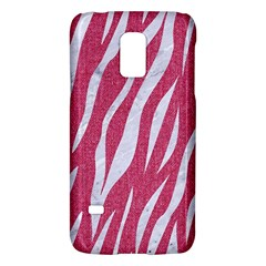 SKIN3 WHITE MARBLE & PINK DENIM Galaxy S5 Mini