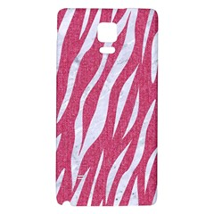 Skin3 White Marble & Pink Denim Galaxy Note 4 Back Case by trendistuff