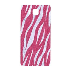 SKIN3 WHITE MARBLE & PINK DENIM Samsung Galaxy Alpha Hardshell Back Case