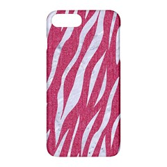Skin3 White Marble & Pink Denim Apple Iphone 7 Plus Hardshell Case by trendistuff