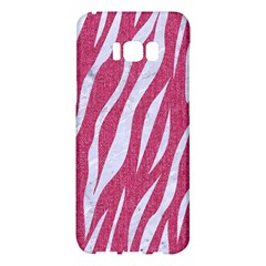 SKIN3 WHITE MARBLE & PINK DENIM Samsung Galaxy S8 Plus Hardshell Case