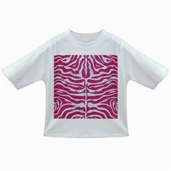 Skin2 White Marble & Pink Denim Infant/toddler T Shirts by trendistuff