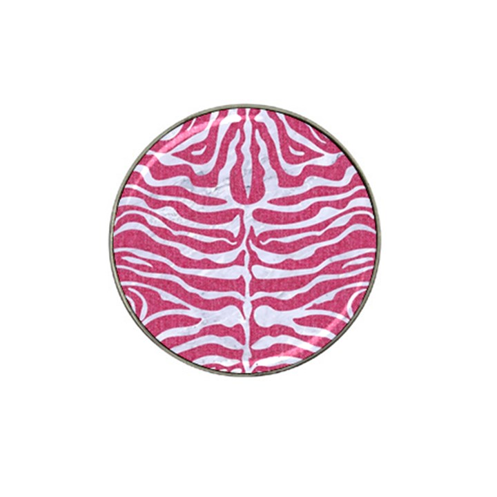 SKIN2 WHITE MARBLE & PINK DENIM Hat Clip Ball Marker (10 pack)