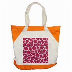 Skin1 White Marble & Pink Denim (r) Accent Tote Bag by trendistuff