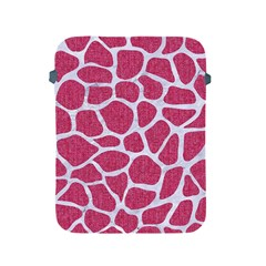 SKIN1 WHITE MARBLE & PINK DENIM (R) Apple iPad 2/3/4 Protective Soft Cases