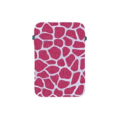Skin1 White Marble & Pink Denim (r) Apple Ipad Mini Protective Soft Cases by trendistuff