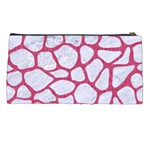 SKIN1 WHITE MARBLE & PINK DENIM Pencil Cases Back