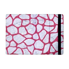 Skin1 White Marble & Pink Denim Ipad Mini 2 Flip Cases by trendistuff