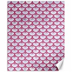 SCALES3 WHITE MARBLE & PINK DENIM (R) Canvas 16  x 20   20 x16 Canvas - 1