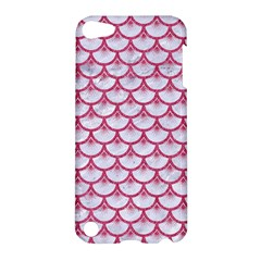 Scales3 White Marble & Pink Denim (r) Apple Ipod Touch 5 Hardshell Case by trendistuff