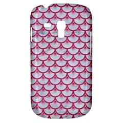 Scales3 White Marble & Pink Denim (r) Galaxy S3 Mini by trendistuff