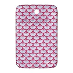 Scales3 White Marble & Pink Denim (r) Samsung Galaxy Note 8 0 N5100 Hardshell Case