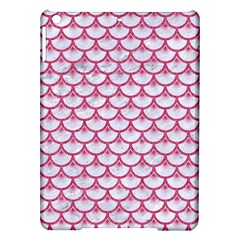 Scales3 White Marble & Pink Denim (r) Ipad Air Hardshell Cases by trendistuff