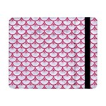 SCALES3 WHITE MARBLE & PINK DENIM (R) Samsung Galaxy Tab Pro 8.4  Flip Case Front