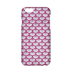 SCALES3 WHITE MARBLE & PINK DENIM (R) Apple iPhone 6/6S Hardshell Case