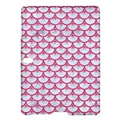 SCALES3 WHITE MARBLE & PINK DENIM (R) Samsung Galaxy Tab S (10.5 ) Hardshell Case