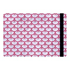 Scales3 White Marble & Pink Denim (r) Apple Ipad Pro 10 5   Flip Case by trendistuff