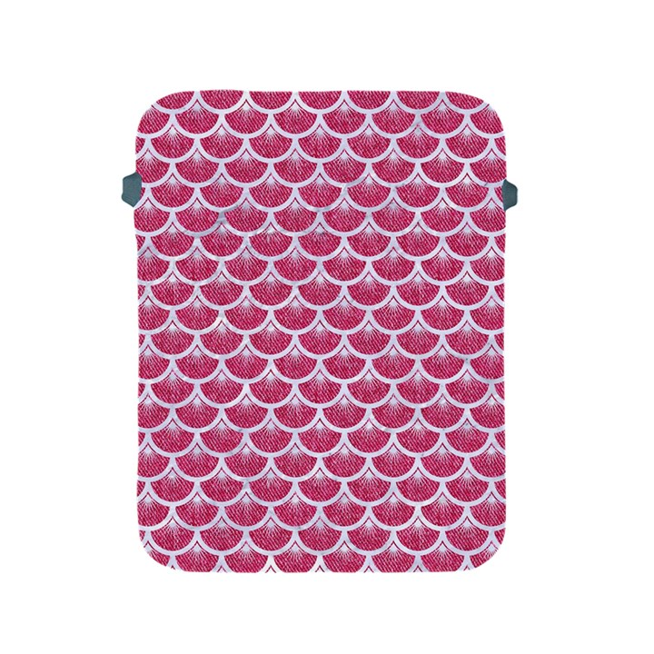 SCALES3 WHITE MARBLE & PINK DENIM Apple iPad 2/3/4 Protective Soft Cases