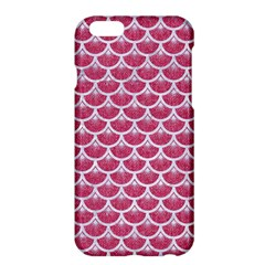 Scales3 White Marble & Pink Denim Apple Iphone 6 Plus/6s Plus Hardshell Case