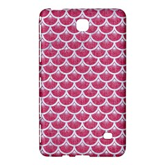 Scales3 White Marble & Pink Denim Samsung Galaxy Tab 4 (7 ) Hardshell Case  by trendistuff