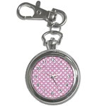 SCALES2 WHITE MARBLE & PINK DENIM (R) Key Chain Watches Front