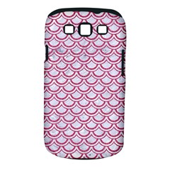 Scales2 White Marble & Pink Denim (r) Samsung Galaxy S Iii Classic Hardshell Case (pc+silicone)