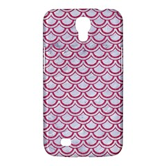 Scales2 White Marble & Pink Denim (r) Samsung Galaxy Mega 6 3  I9200 Hardshell Case by trendistuff