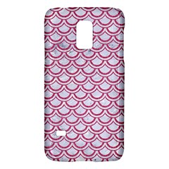 Scales2 White Marble & Pink Denim (r) Galaxy S5 Mini by trendistuff