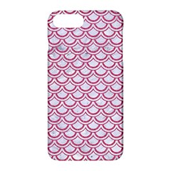 Scales2 White Marble & Pink Denim (r) Apple Iphone 7 Plus Hardshell Case