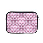 SCALES2 WHITE MARBLE & PINK DENIM (R) Apple MacBook Pro 15  Zipper Case Front