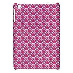 Scales2 White Marble & Pink Denim Apple Ipad Mini Hardshell Case