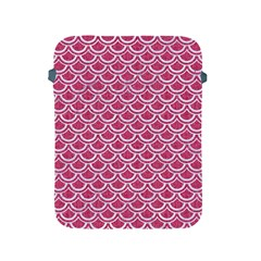 SCALES2 WHITE MARBLE & PINK DENIM Apple iPad 2/3/4 Protective Soft Cases