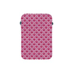 SCALES2 WHITE MARBLE & PINK DENIM Apple iPad Mini Protective Soft Cases