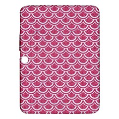 SCALES2 WHITE MARBLE & PINK DENIM Samsung Galaxy Tab 3 (10.1 ) P5200 Hardshell Case