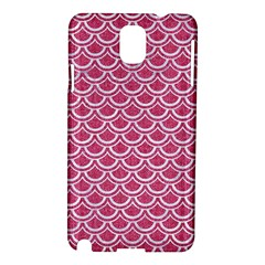 SCALES2 WHITE MARBLE & PINK DENIM Samsung Galaxy Note 3 N9005 Hardshell Case