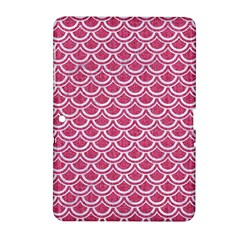 SCALES2 WHITE MARBLE & PINK DENIM Samsung Galaxy Tab 2 (10.1 ) P5100 Hardshell Case