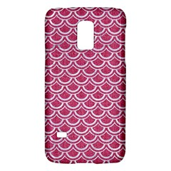 Scales2 White Marble & Pink Denim Galaxy S5 Mini by trendistuff