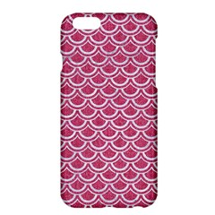 SCALES2 WHITE MARBLE & PINK DENIM Apple iPhone 6 Plus/6S Plus Hardshell Case