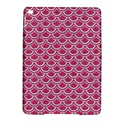 Scales2 White Marble & Pink Denim Ipad Air 2 Hardshell Cases by trendistuff
