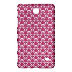 SCALES2 WHITE MARBLE & PINK DENIM Samsung Galaxy Tab 4 (8 ) Hardshell Case